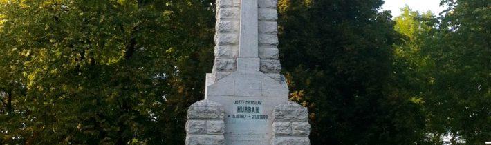 Spomienková slávnosť na J.M.Hurbana a odhalenie pamätnej tabule v Hlbokom