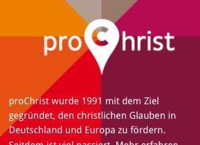 Evanjelizácia Pro Christ 2016