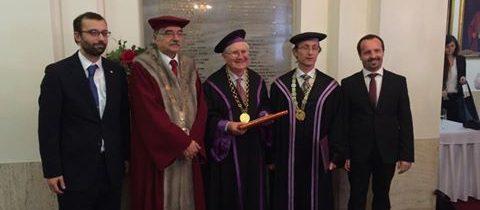 Prof.Robert Kolb z USA – čestný doktor UK v Bratislave
