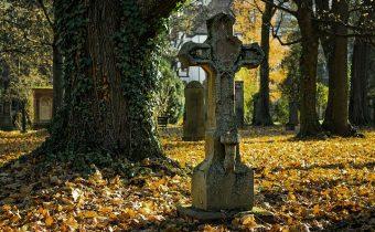 Štefan Krčméry – Na cintoríne