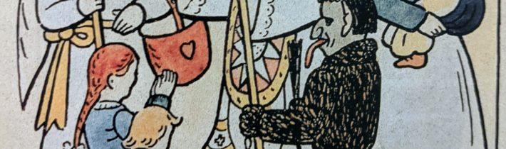 Symbolika čerta u Mikuláša