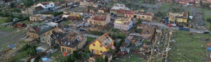 Zbierka na pomoc postihnutým tornádom na Južnej Morave